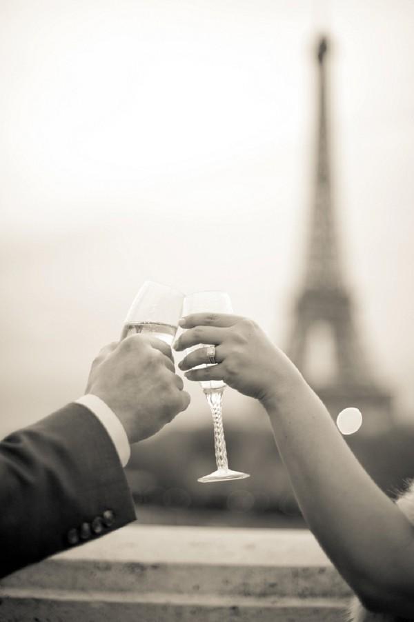 Eiffel Tower elopement