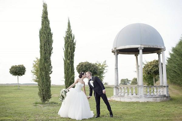 garden dordogne wedding
