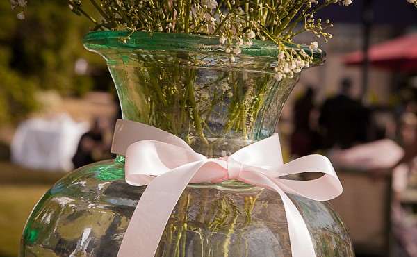 Glass Jar Wedding Decoration