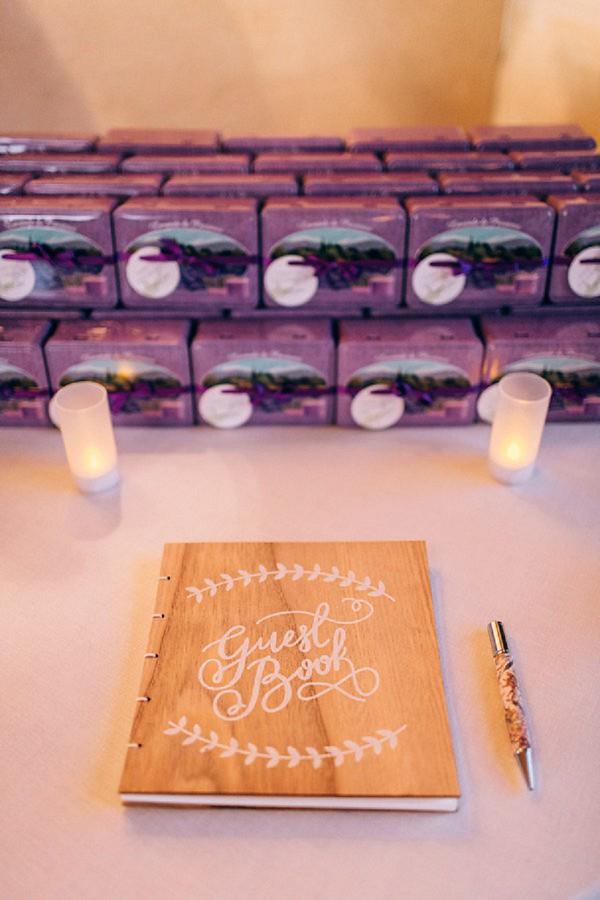 lavender soap favours