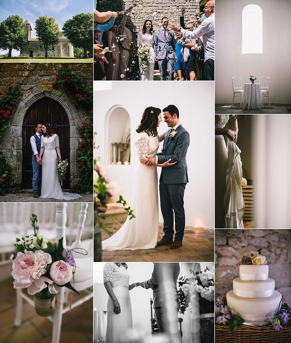 Relaxed Dordogne Chateau Wedding Snapshot
