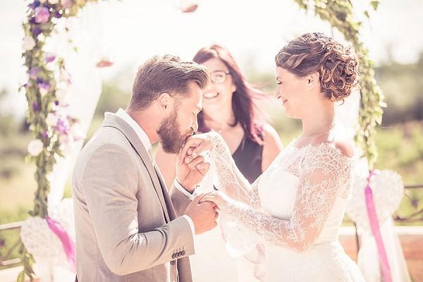 romantic chateau des selves wedding