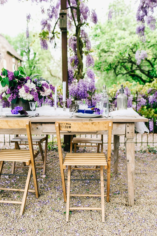 Romantic Wisteria Inspired Wedding Styled Shoot
