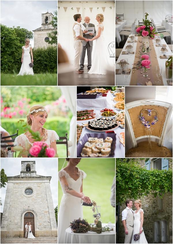 Rural South of France wedding Snapshot