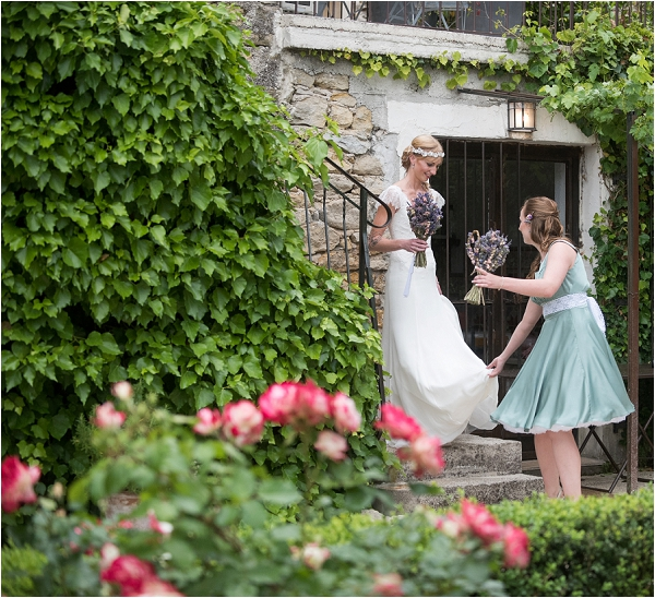 Rural South of France wedding