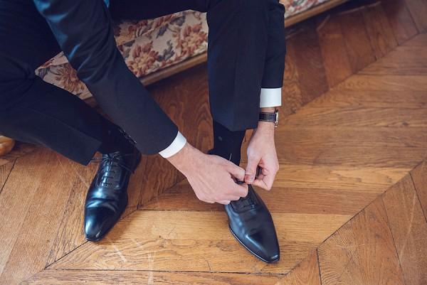 black tie french wedding