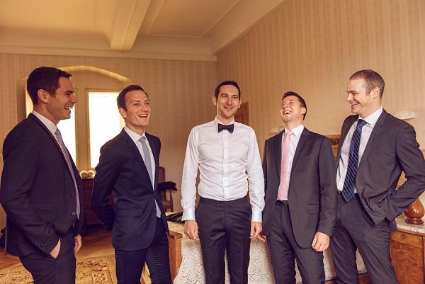 black tie loire valley wedding