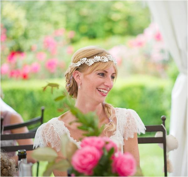 elegant garden bridal style