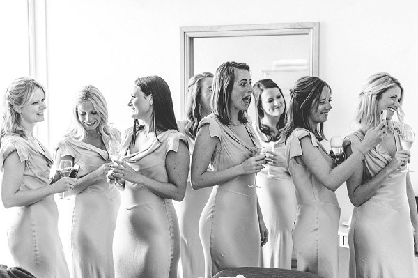 fitted bridesmaid dresses