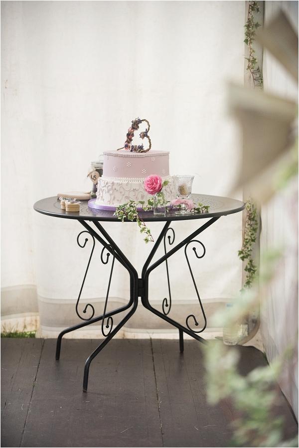 lavender wedding cake ideas