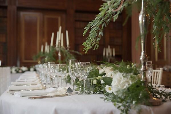 one table wedding breakfast