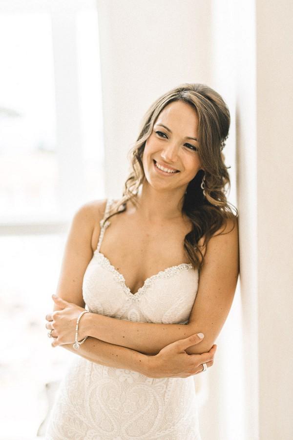 stunning bridal portrait