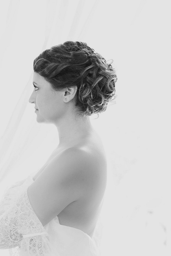 wedding day updo