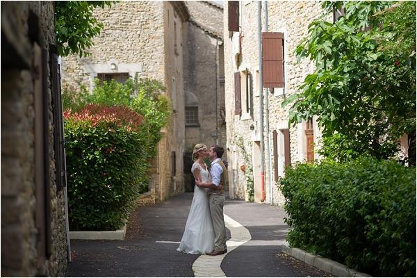 wedding pretty streets of France