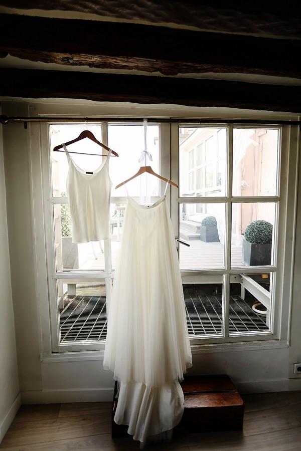 BHLDN two piece dress