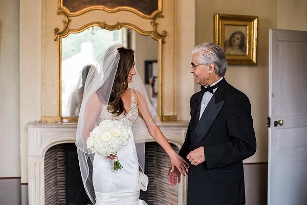 Black tie father of the bride