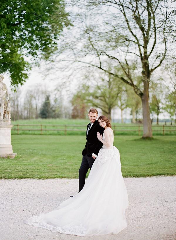 Burgundy wedding venue