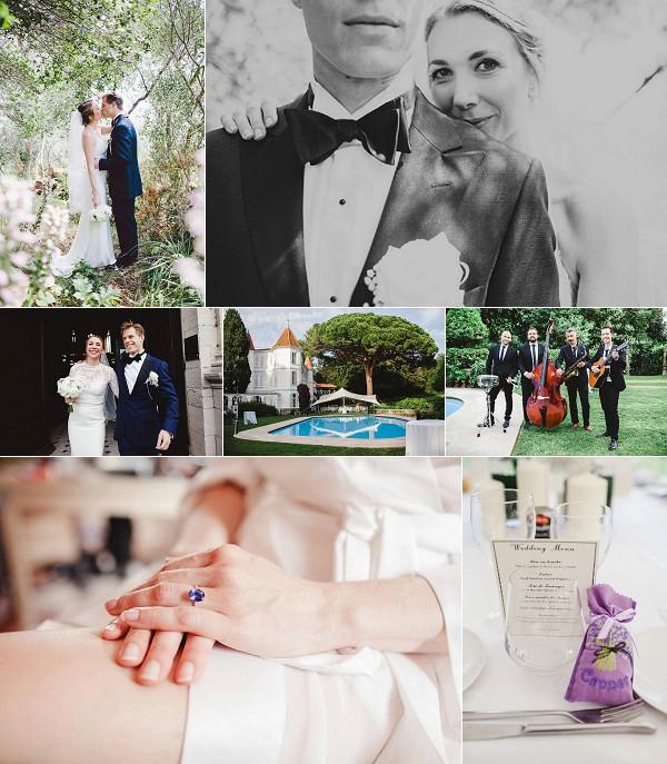 Cannes Château de Garibondy Wedding Snapshot