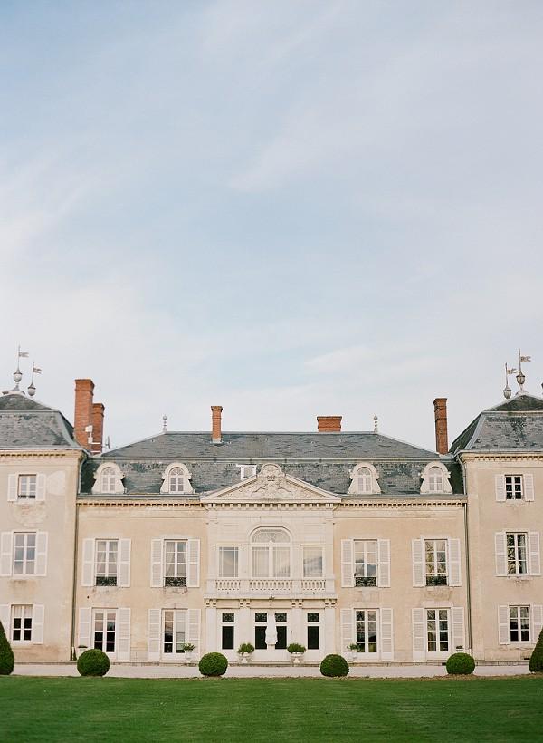 Chateau De Varennes Fine Art Wedding Inspiration