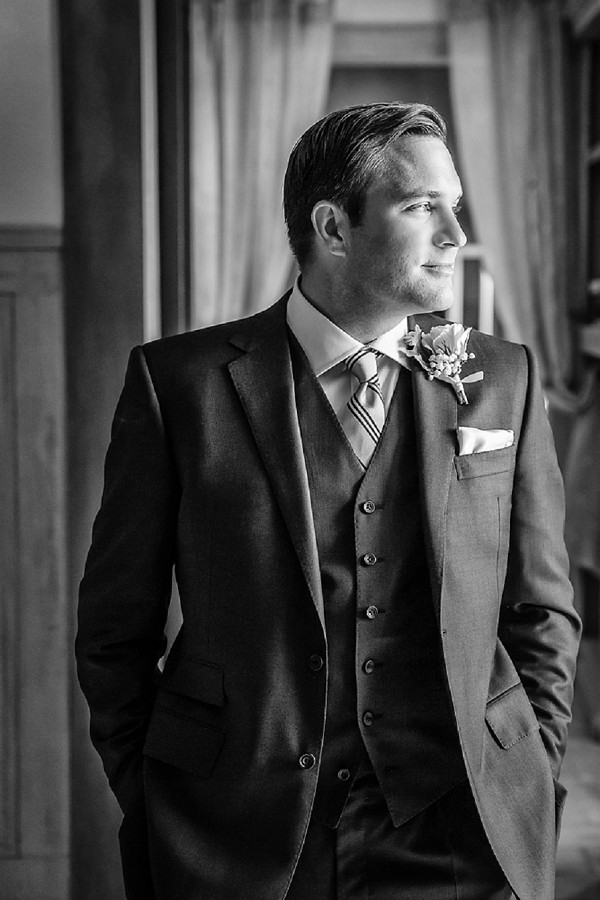 Clements and Church groom outfit