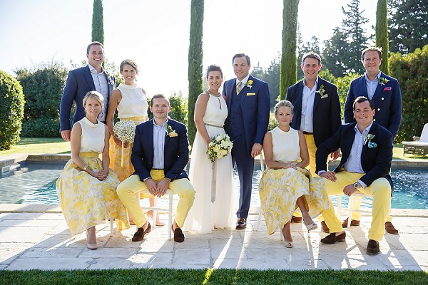 Le Clos Saint Estève Sunny Provence Wedding