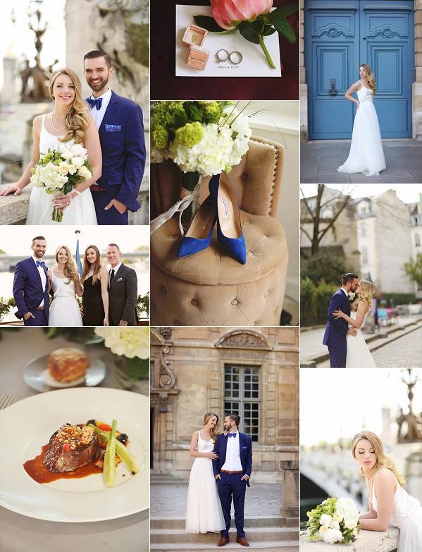 Intimate Spring Wedding In Paris Snapshot