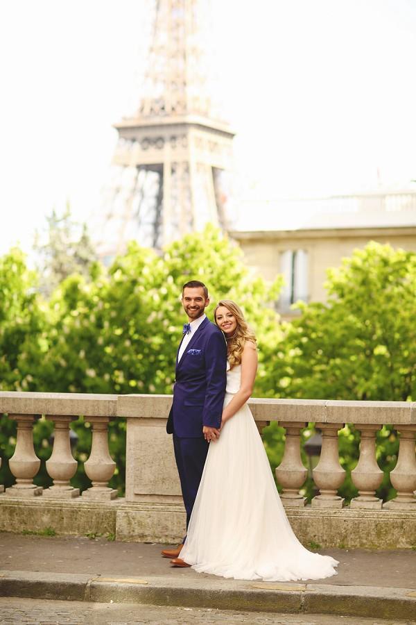 Intimate Spring Wedding In Paris