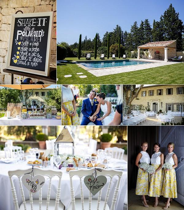 Le Clos Saint Estève Sunny Provence Wedding Snapshot