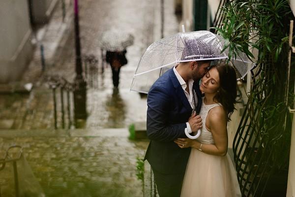 Love filled Paris engagement session