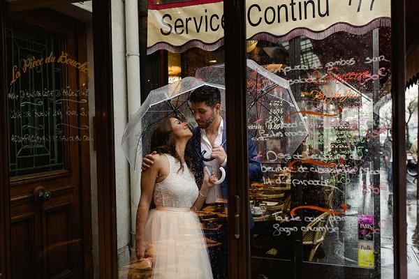 Montmartre engagement session
