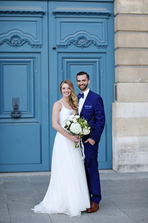Paris spring wedding