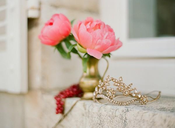 Peony wedding bloom