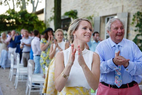 Provence outdoor ceremony