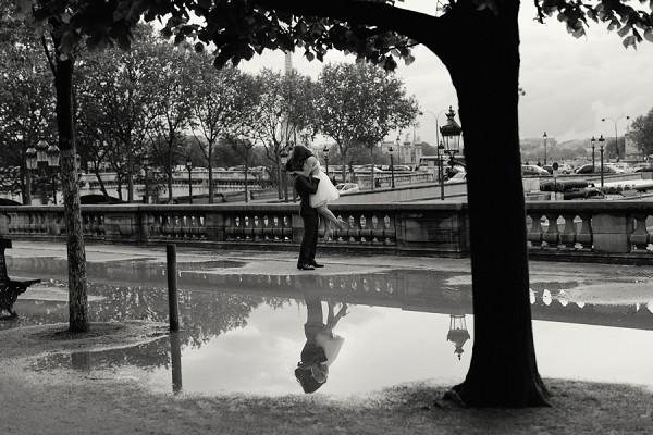Reflection Paris photography