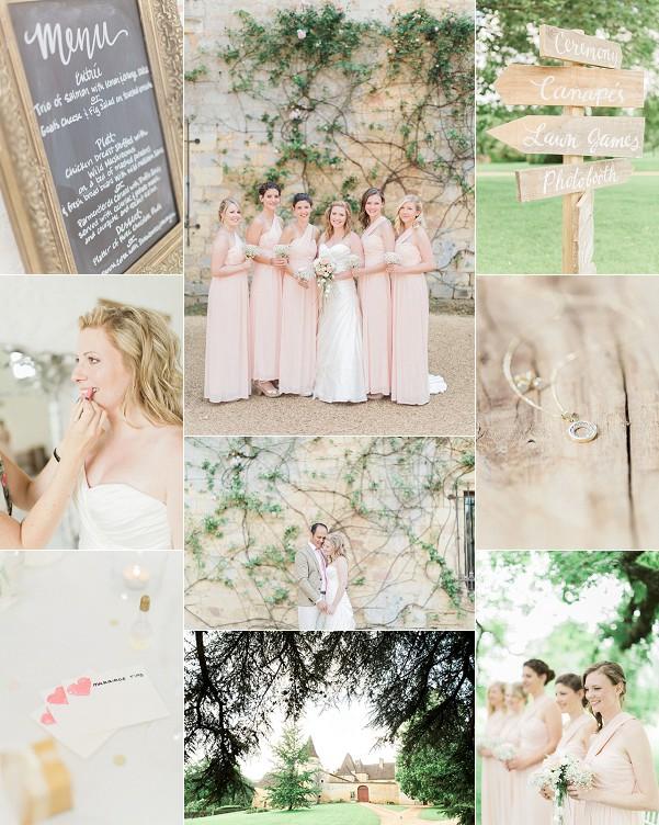 Romantic Fairytale Chateau de la Bourlie Wedding Snapshot