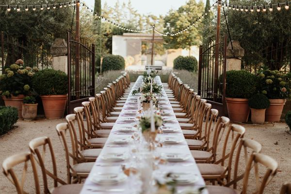 Rose Gold Wedding Planners