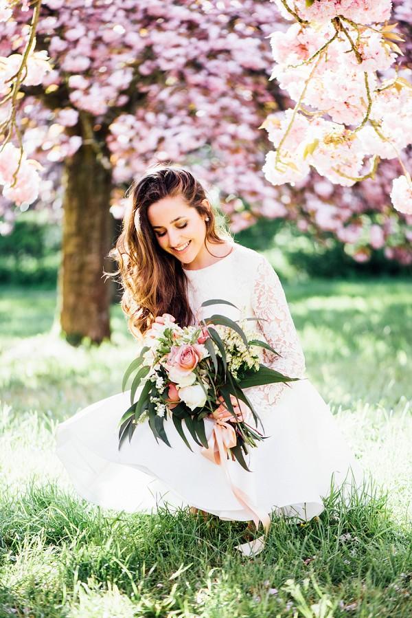 Springtime Cherry Blossom Wedding Inspiration