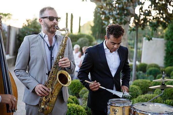 The Troubadours wedding band