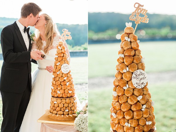 french traditional wedding cake