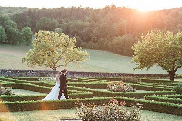 golden hour wedding day