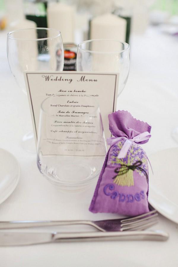 lavender bag favours