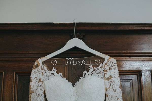 mrs wedding hanger