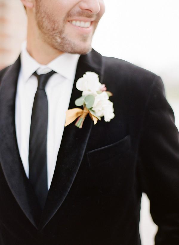 velvet wedding jacket
