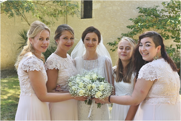 Bridesmaids in France   Image by Awardweddings