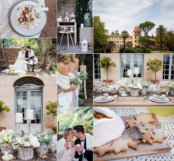 Château Colbert Cannet Winter Wedding Inspiration Snapshot