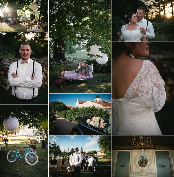 Chateau de Saint Genés du Retz Rustic Wedding Snapshot