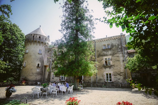 Chateau wedding Cévennes