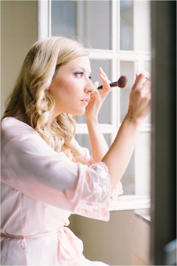 DIY bridal makeup   Image by Maya Maréchal Photography