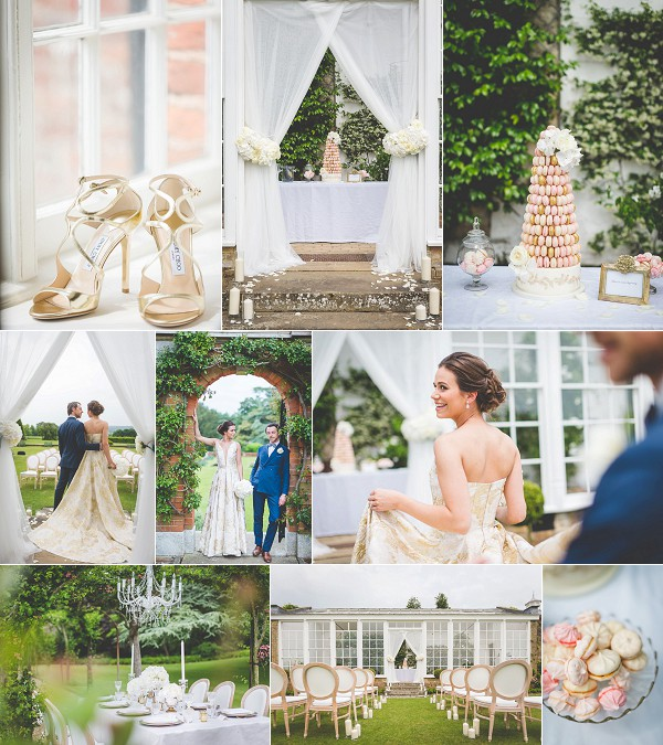 Exquisite French Wedding Style Shoot Snapshot