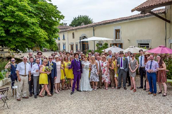 Group wedding photo idea